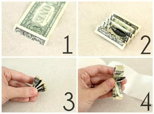 درست کردن گردنبندی از پول