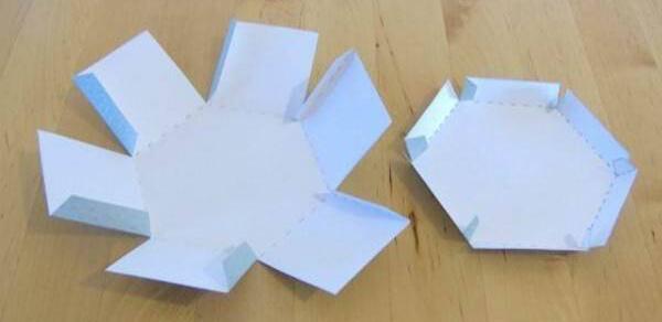 الگو ساخت جعبه کادویی