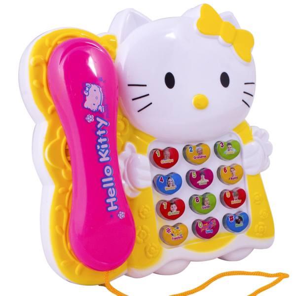 اسباب بازی آموزشی تلفن موزیکال مدل 001