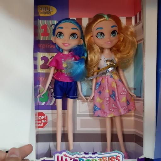 عروسک باربی دوقلو اسباب بازی باربی عروسکی دخترانه