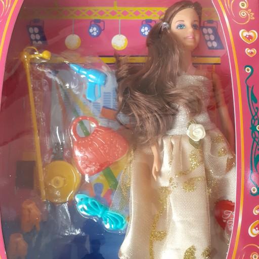 عروسک باربی همراه با میکرفن