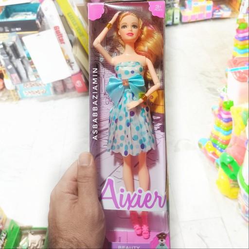 عروسک باربی مفصلی مفصل دار اسباب بازی