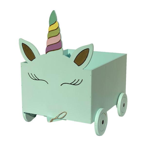 جعبه اسباب بازی کودک مدل یونیکورن