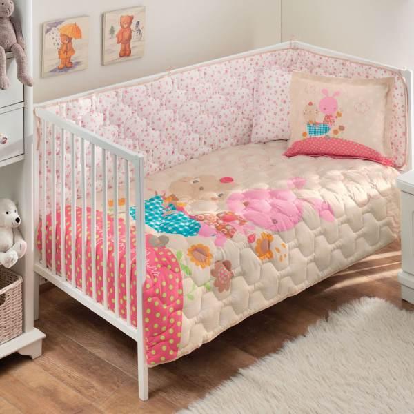 سرویس خواب 6 تکه نوزادی تاچ مدل Garden