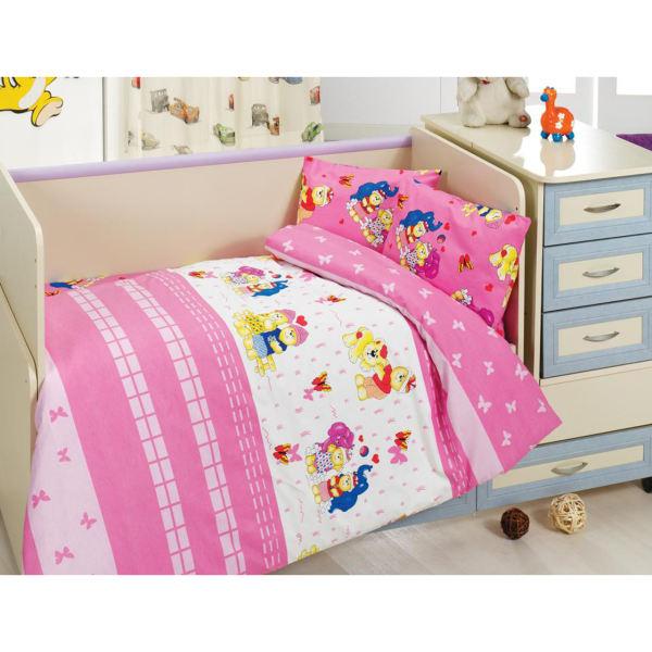 سرویس خواب 8 تکه نوزاد طرح Happy