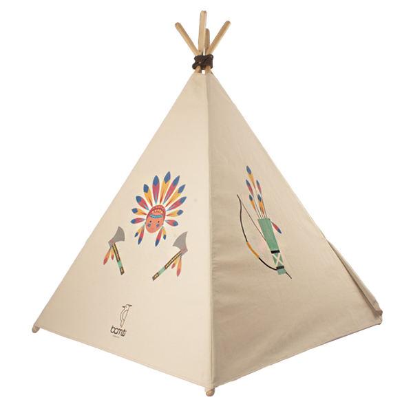 چادر بازی کودک مدل سرخپوستی کد 03