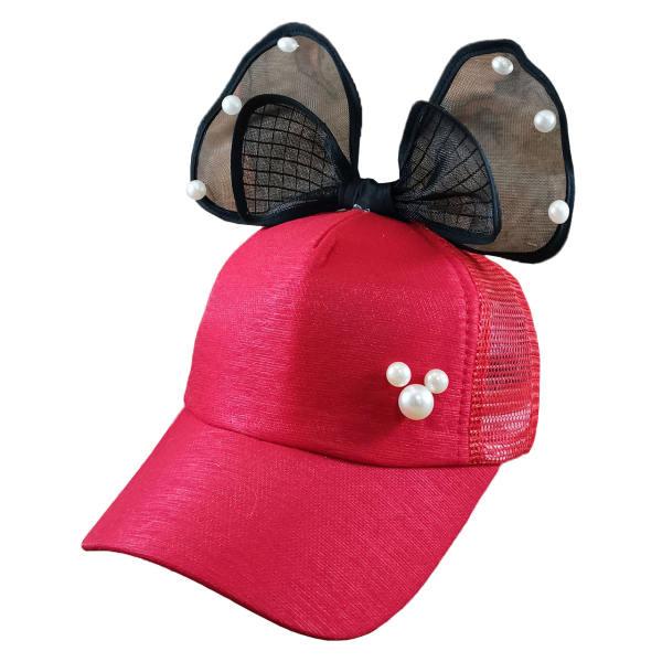 کلاه کپ دخترانه مدل mn1296