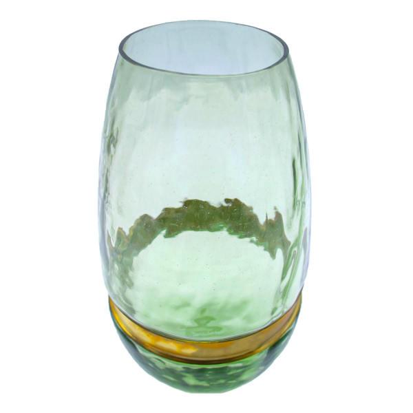 گلدان شیشه ای مدل قوطی کد 65